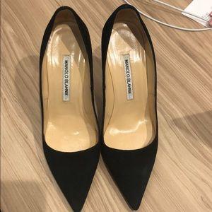Manila Blahnik pointy toed heels sz 38